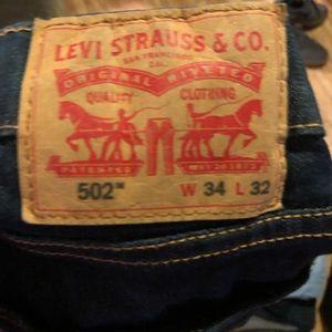 Levi's 502 34x32 jeans